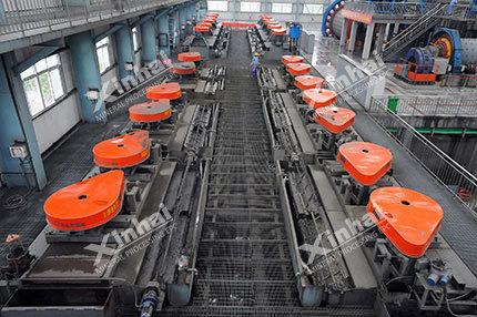 Processo de seleção de minério de fosfato