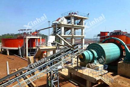 Processo de seleção de minério de níquel