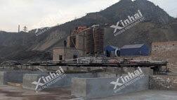 Projeto de separação por gravidade de ouro 100t / d da Mongólia Interior
