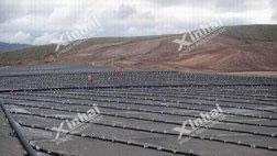 Projeto de lixiviação de pilha de ouro de 100 t / d no Tajiquistão