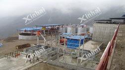 Projeto de processamento de ouro de CIP do Wenxian Xinguan