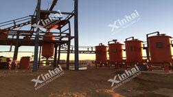Projeto de processamento de ouro de CIL de 100t/d do Sudão