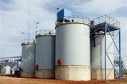 Processo CIL de mina de ouro (método de lixiviação de carvão vegetal)