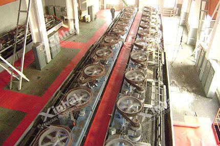 Linha de produção de flotação para mina de ouro