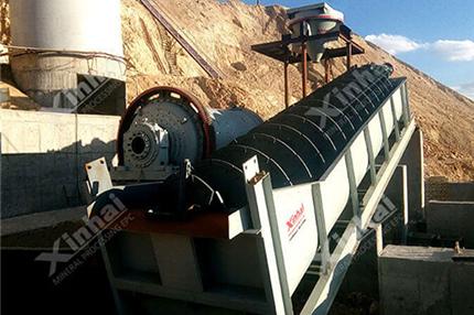 Processo de seleção de minério de manganês