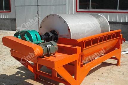 separador magnético permanente de cilindro
