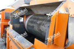 Separador seco magnético rotativo excêntrico