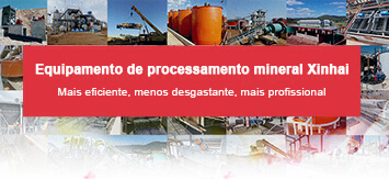 Equipamento de processamento mineral Xinhai